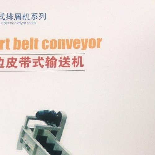 青岛设计定制排屑装置裙边皮带式输送机
