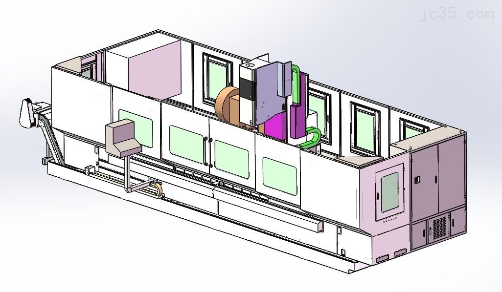 單頭型材加工中心
