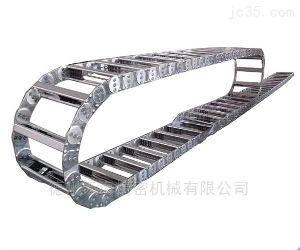 机床桥式钢铝电缆保护拖链