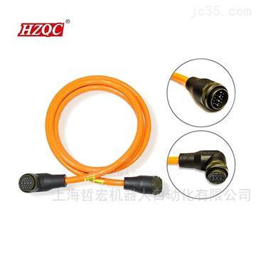 PUR耐油防水一体式第四轴动力电缆