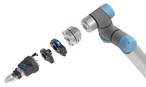 SCHUNK用于手工业轻量机器人的专业设备