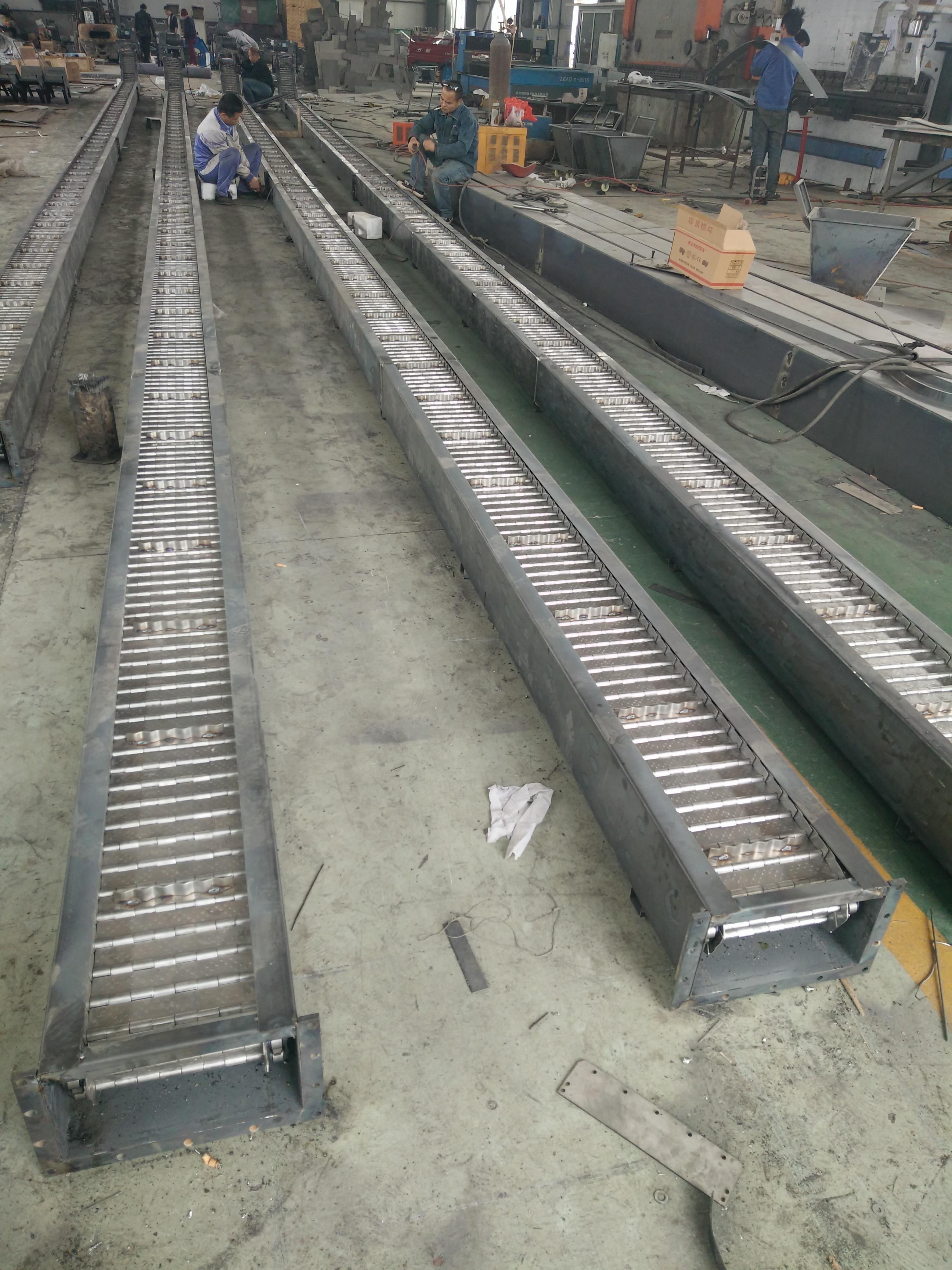 链板排屑机的安装和使用有什么特性